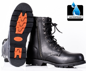 HD BIKER RAGE BOOTS WATERPROOF mc stövlar   C-101